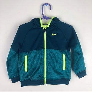 Nike | Kids Green Track Suit Jacket
